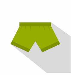 green man boxer briefs icon flat style vector image