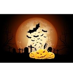 Halloween Zombie Party Poster vector