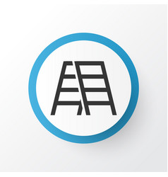 Stepladder icon symbol premium quality isolated vector