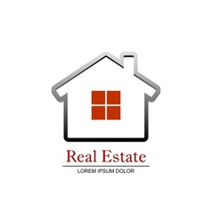 Real Estate vector image