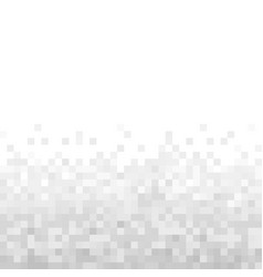 Grey geometric pixel background abstract digital vector