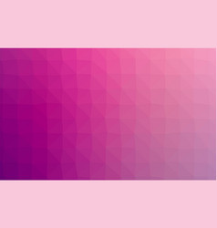 abstract violet colorful lowploly of many vector image vector image