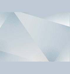abstract low polygon white and gray gradient vector image