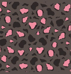 animal skin print pattern camouflage repeat spot vector image