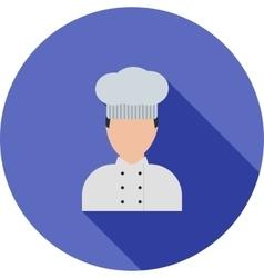 Baker vector image
