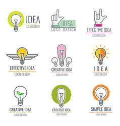 creative idea digital media smart brain concept vector image