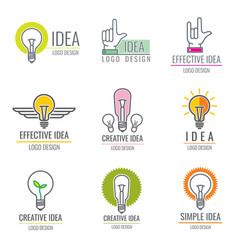 Creative idea digital media smart brain concept vector