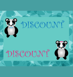Discount tag with special offer sale sticker vector