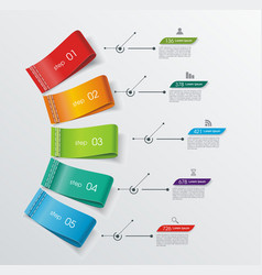 number option banners design can be used for vector image