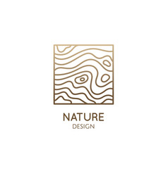 Pattern logo water template square icon of vector