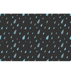 Rain pattern night vector