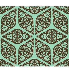 Retro decorative seamless pattern Endless vector image