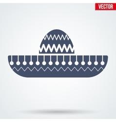 Sombrero Mexican hat symbol vector