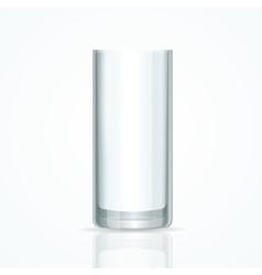 Transparent Glass vector image
