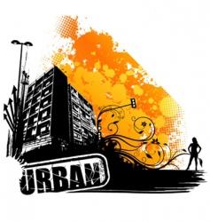 urban art vector image