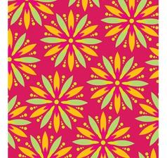 Wallpaper flower vector image vector image