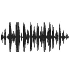 sound waves recording speech speech synthesizer vector image