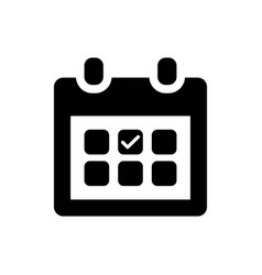Appointment date icon vector