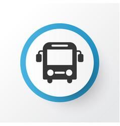 Bus icon symbol premium quality isolated autobus vector