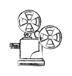 figure short film video camera studio vector image
