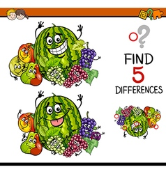 Find the differences task vector