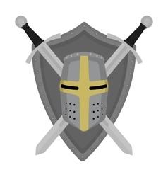 Knight embltm vector