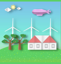 Landscape ecology environment and conservation vector