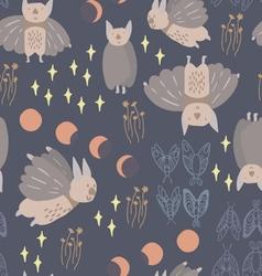 Night creatures bats-Converted vector