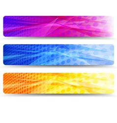 Web Banners Absract Background vector image vector image