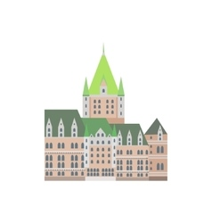 Castle Frontenac As A National Canadian Culture vector