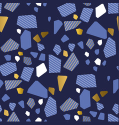 geometric colorful shapes seamless pattern vector image