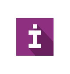 letter i icon initial letter i logo vector image