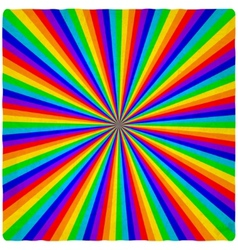 rainbow old background vector image