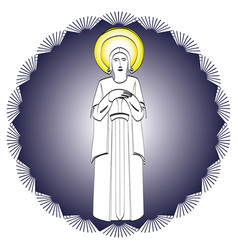 religious theme icon vector image