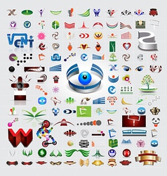Symbols and icons set vector