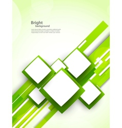 Background with squares and lines vector image