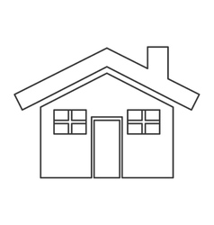 house pictogram icon vector image vector image
