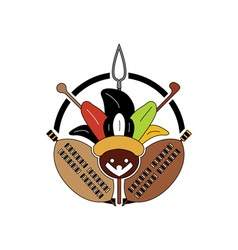Zulu-Tribe-Sign-380x400 vector image vector image