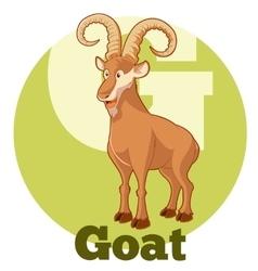 ABC Cartoon Goat vector