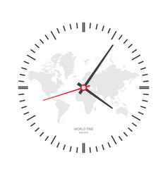 Clock watch icon vector
