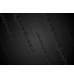 Dark black abstract background vector