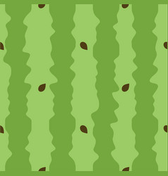 green watermelon texture seamless pattern vector image