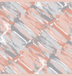 pale pastel color brush stroke seamless pattern vector image