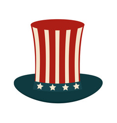 Usa sam uncle hat vector