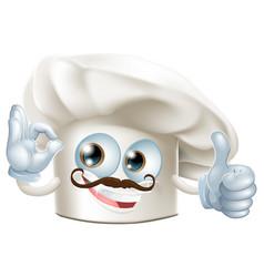 cook cartoon man vector image vector image