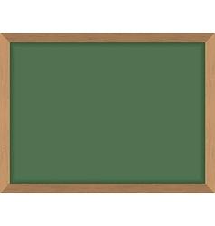 Green School Board Clean Blackboard Acces vector image