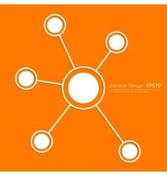 Stock Linear icon social ties vector image