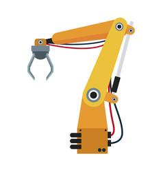 Robotic hand theme automation robot vector
