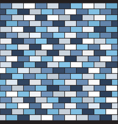 Brick wall pattern seamless rectangle background vector