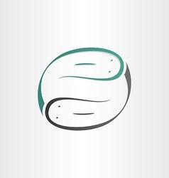 Catfish symbol stylized design element vector
